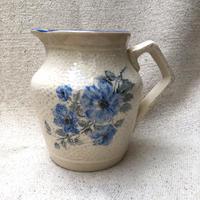 ブルーのお花のJug