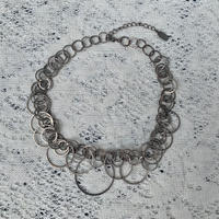 USED hoop necklace