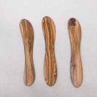 オリーブウッド バターナイフ
