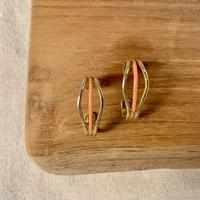 USED happy color pierce (baby orange,gold color)
