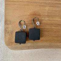 USED simple  pierce (matte black)