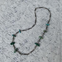 USED silver&turquoise necklace