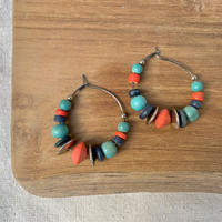 USED happy color pierce (wood)