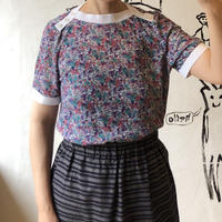 lady's floral pattern tops