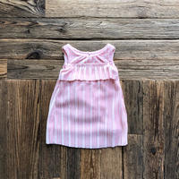kids Deadstock velour pleated onepiece(12M/80cm)