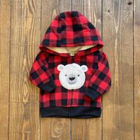 kids fleece jacket(0~3M/50cm)