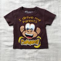 kids monkey T-shirt(70cm)