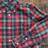 kids RALPH LAUREN L/S B.D check shirts(5T/115cm)
