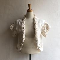 lady's crochet bolero
