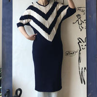 lady's summer knit one-piece