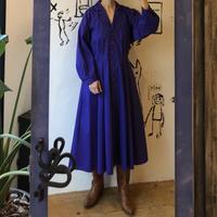 lady's purple one-piece