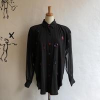 lady's imitation design blouse