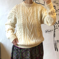lady's cable knitting tops