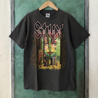"""lady's """"styx"""" north american tour 1977 tee"""