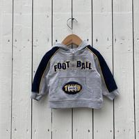 kids〝FOOTBALL〟hoodie(9M/70cm)