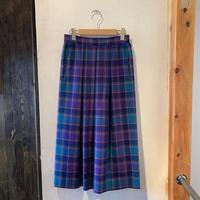 lady's pendoleton wool plaid  skirt