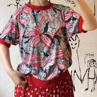 lady's botanical pattern lib tee shirts