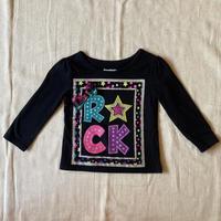 girls L/S T-shirt(12M/80cm)