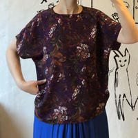 lady's floral paint style tops