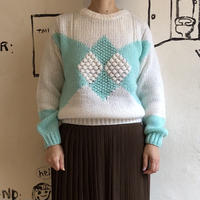 lady's argyle sweater
