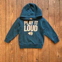 kids 〝PLAY IT LOUD〟hoodie(2T/90cm)