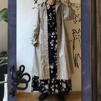 lady's spring flare silhouettecoat