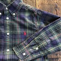 kids RALPH LAUREN L/S B.D check shirts(4T/105cm)