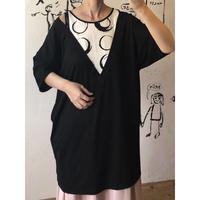 lady's layered style tunic tops