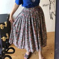 lady's 1950's circular skirt