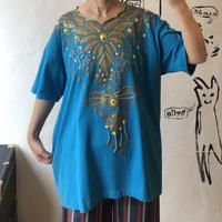 lady's 1980's design tee shirt