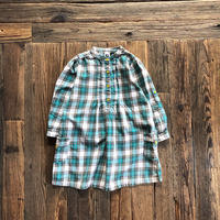 kids Carter's check shirts onepiece(4T/105〜110cm)