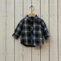 kids L/S flannel shirt(6-9M/60cm~70cm)