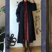 lady's navy long coat