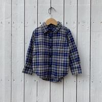 kids check flannel shirt(3T/100cm)
