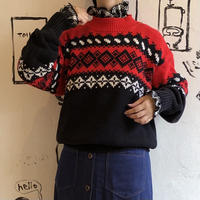 lady's nordic sweater