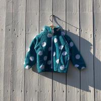 kids dot fleece jacket(12M/80cm)