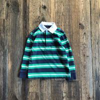 kids CHAPS L/S rugby shirts(3T/95〜100cm)