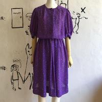 lady's purple color one-piece