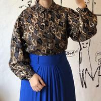 lady's volume sleeve blouse