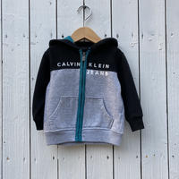 kids Calvin Klein zip up parka(18M/85cm)