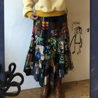 lady's hand made patchwork skirt