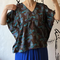lady's poncho style tops