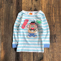 kids L/S tee TOY STORY Mr.POTATOHEAD(2T/90cm)