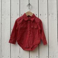 kids Wrangler shirt rompers(3-6M/60cm)