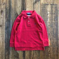 kids RALPH LAUREN L/S polo shirts(4T/105cm)