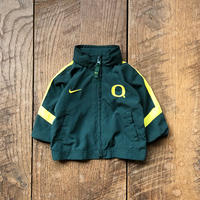 kids NIKE OREGON DUCKS removable hoodie nylon jacket(3-6M/60cm)
