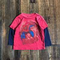 kids L/S tee SPIDERMAN(24M/85〜90cm)
