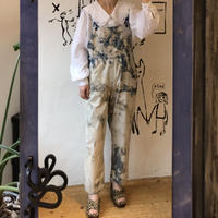 lady's 1990's  bleach overall