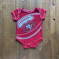 kids S/S rompers San Francisco 49ers(50cm)