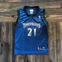 kids NBA MINNESOTA TIMBER WOLVES uniform tank top(8T/140cm)
